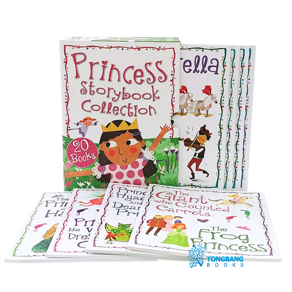 [특가세트] Princess Storybook Collection : 20종 픽쳐북 Box Set (Paperback, 영국판)(CD없음)