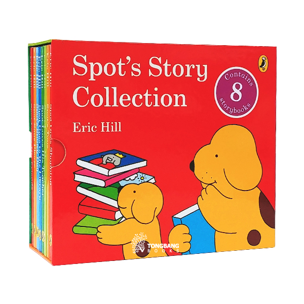[특가세트] Spot's Story Collection - 8 Books Box Set (Board Book, 영국판)