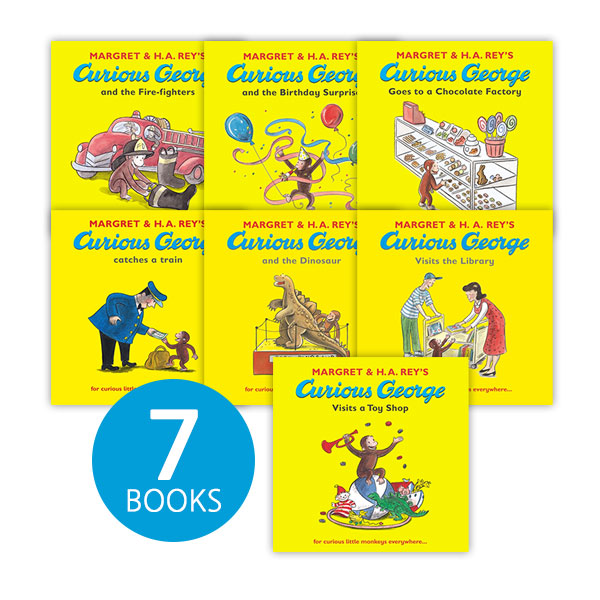 [특가세트] The Curious George Collection (7종, Paperback)