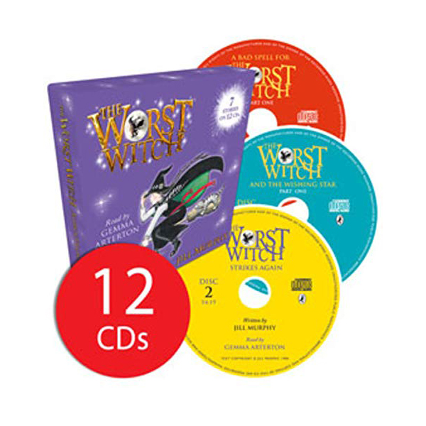 [특가세트] The Worst Witch Audio Collection - 12 CDs (Audio CDs, 영국판)