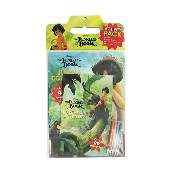★추가할인★ [특가] Disney Jungle Book Activity Pack (Paperback)