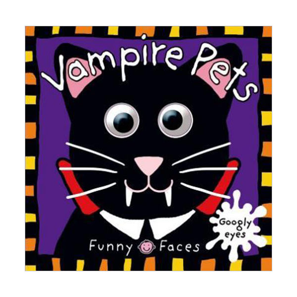 [특가]  Funny Faces Vampire Pets (Board book)