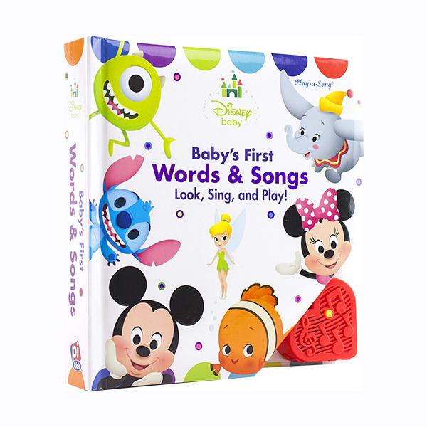 [특가] Disney Baby Baby's First Musical Treasury (Sound Board book)