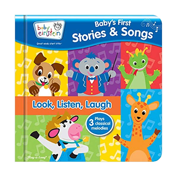 [특가] Baby Einstein : Baby's First Stories & Songs (Sound Board book)