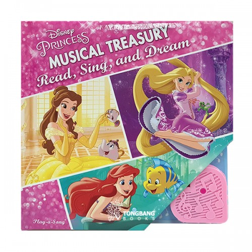 [특가] Disney Princess Baby's First Musical Treasury (Board book, Sound book)