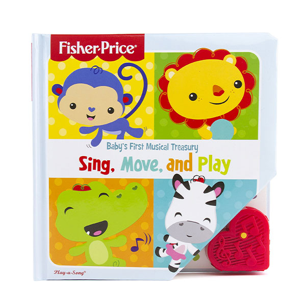 [특가] Fisher-Price : Baby's First Musical Treasury : Sing, Move, and Play (Sound book)