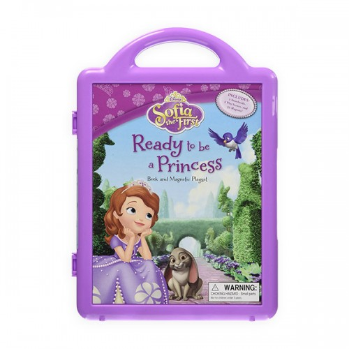 [특가] Sofia the First Ready to Be a Princess : A Magnetic Book and Play Set (CD미포함)