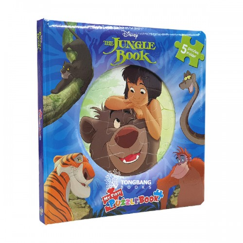 [특가] Disney The Jungle Book : My First Puzzle Book (Board Book)