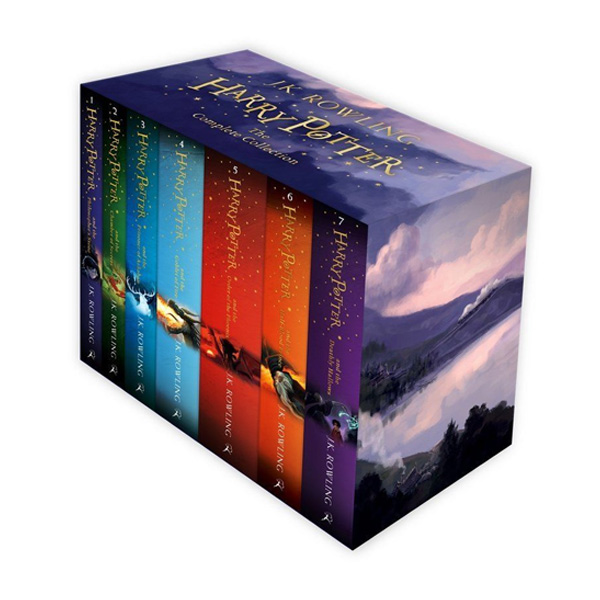 ☆윈터세일☆[특가세트/영국판] RL 5.5~7.2 : Harry Potter 1-7 Complete Collection (Paperback)(CD미포함)