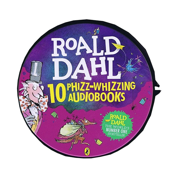 [특가세트] Roald Dahls Phizz Whizzing Audio Collection (Audio CD, 29장, Unabridged, 영국판)(도서미포함)
