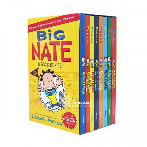 [특가세트] Big Nate 8-Book Box Set (Paperback) (CD없음)