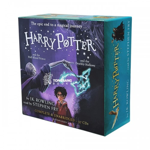 [특가세트/영국판] Harry Potter Books #06-7 : Audio Collection - 37 CDs Stephen Fry (Audio CD)(도서미포함)
