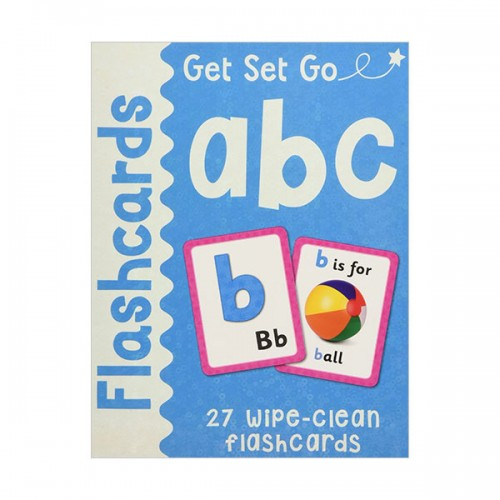 [특가] Get Set Go Flashcards : ABC (Cards)