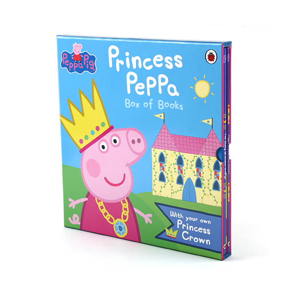 [특가세트] 페파피그 Princess Peppa Pig 2종 Box of Books (Hardcover, 영국판)