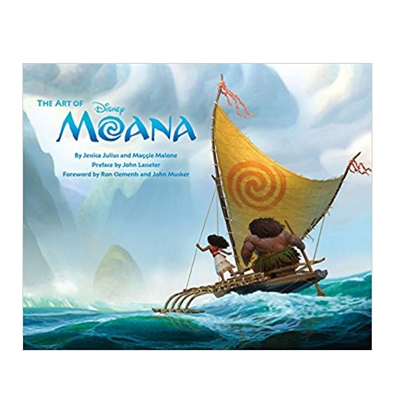 [특가] 모아나 : The Art of Moana (Hardcover)