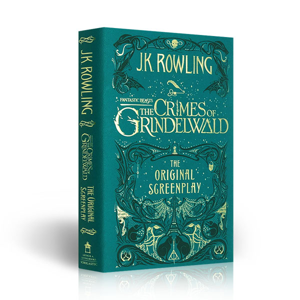 [특가] Fantastic Beasts The Crimes of Grindelwald - The Original Screenplay (Hardcover)