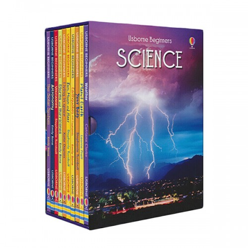 [특가세트] Usborne Beginners Science - 10 Books Boxed Set (Hardcover, 영국판) (CD미포함)