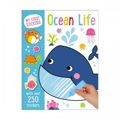 [특가] My First Stickers : Ocean Life (Paperback)