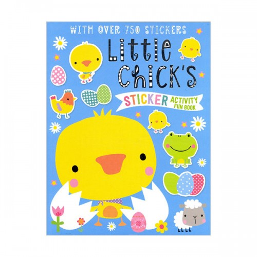 [특가] Sticker Activity Books Little Chick's Sticker Activity Book (Paperback)