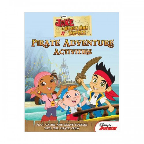 [특가] Disney Junior Jake and the Never Land Pirates Treasure Hunt Activity Book (Paperback, 영국판)