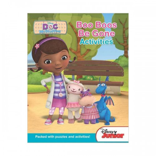 [특가] Disney Junior Doc Mcstuffins :Boo Boos be Gone Activities (Paperback, 영국판)