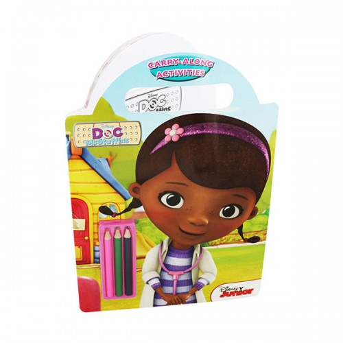 [특가] Disney Doc McStuffins Carry-along Activities with pencils (Paperback, 영국판)