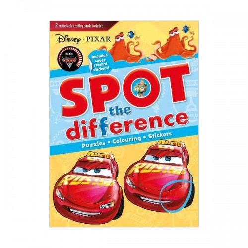 [특가] Disney Pixar Spot the Difference: Includes super reward stickers! (Paperback, 영국판)