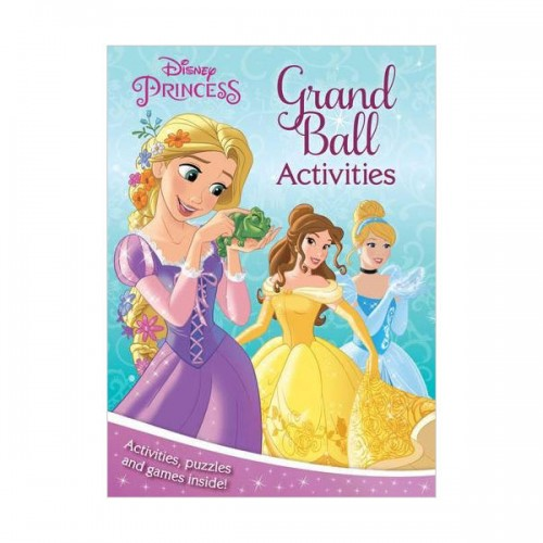 [특가] Disney Princess Grand Ball Activities: Activities, Puzzles and Games Inside! (Paperback, 영국판)