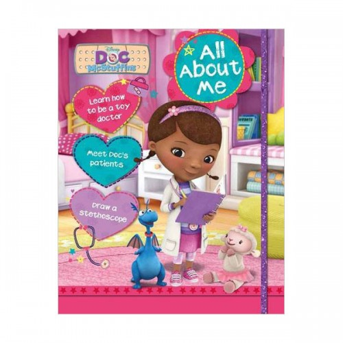 [특가] Disney Doc McStuffins All About Me (Hardcover, 영국판)