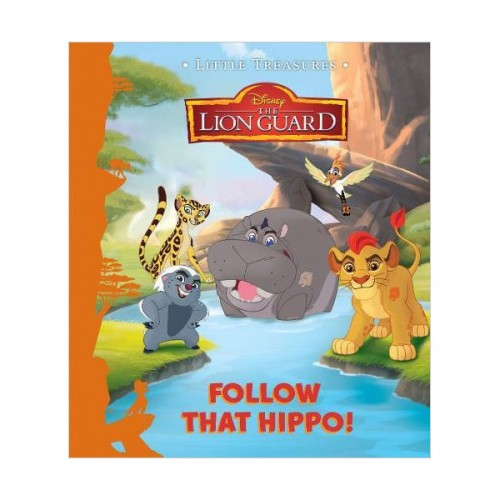 [특가] Disney Junior The Lion Guard Follow That Hippo! (Hardcover, 영국판)