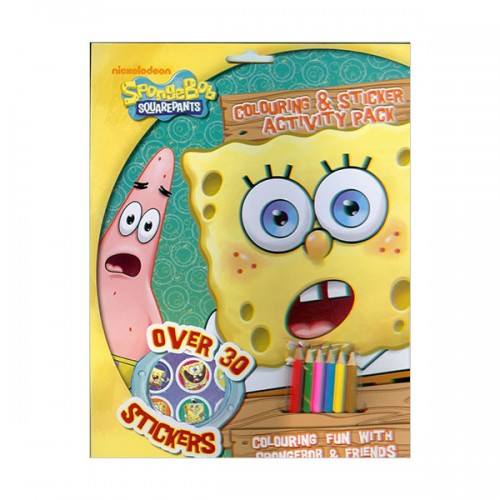 [특가] Spongebob Colouring & Sticker Activty ( (Paperback, 영국판)