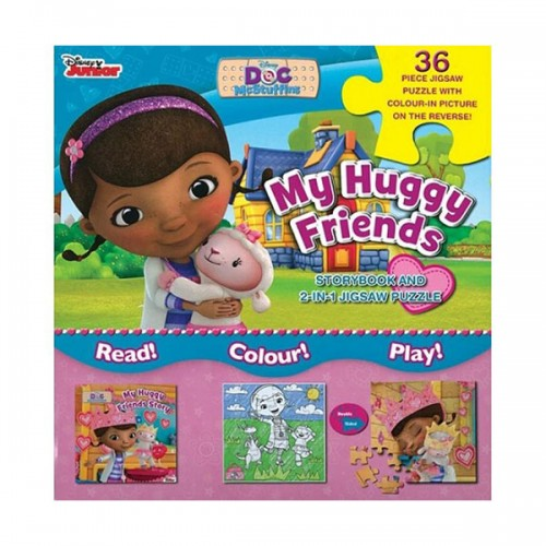 [특가] Disney Doc McStuffins My Huggy Friends (Paperback, 영국판)