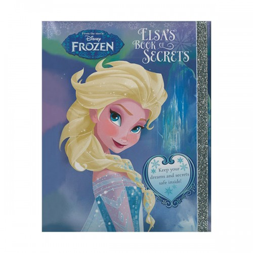 [특가] Disney Frozen Elsa's Book of Secrets (Hardcover, 영국판)