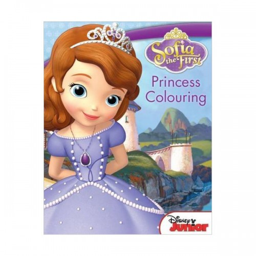 [특가] Disney Sofia the First Princess Colouring (Paperback, 영국판)