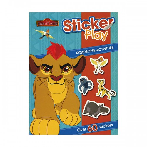 [특가] Disney Junior The Lion Guard Sticker Play Roarsome Activities (Paperback, 영국판)