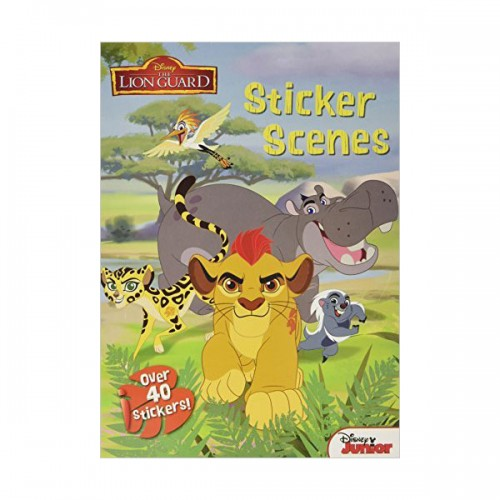 [특가] Disney Junior the Lion Guard Sticker Scenes (Paperback, 영국판)