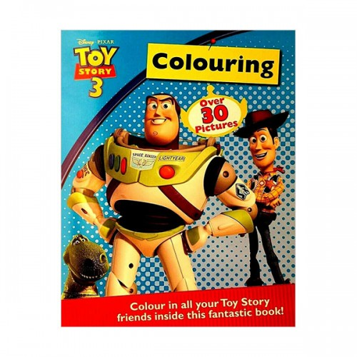 [특가] Disney Pixar Toy Story 3 Colouring (Paperback, 영국판)
