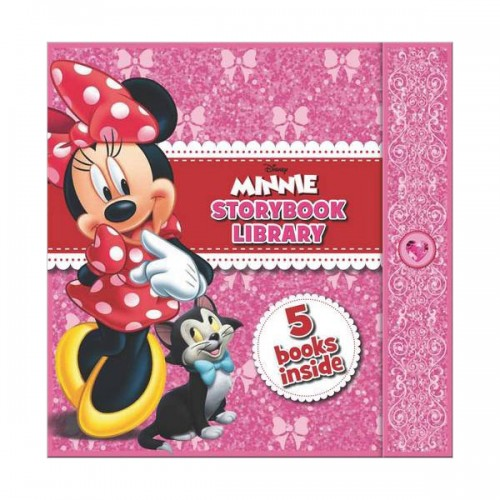 [특가] Disney Junior Minnie Story Books Super Library Collection 5 Books Set (Hardcover, 영국판)