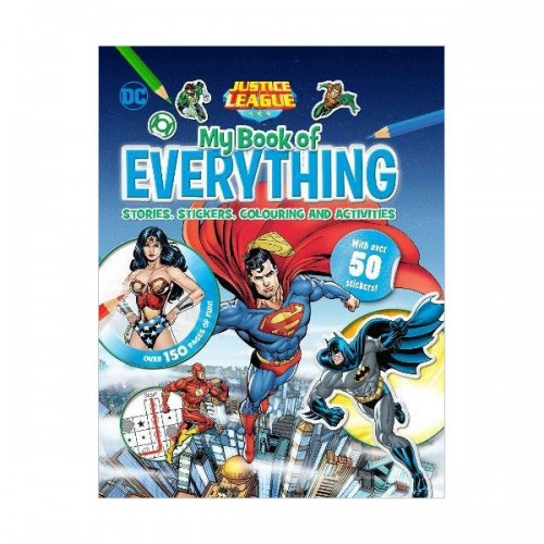 [특가] Justice League My Book of Everything: Stories, Stickers, Colouring and Activities (Hardcover, 영국판)