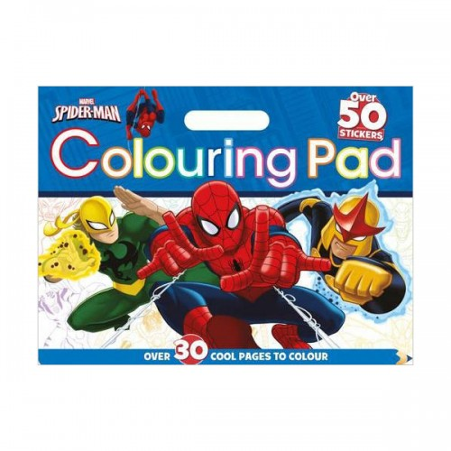 [특가] Marvel Spider-Man Colouring Pad (Paperback, 영국판)