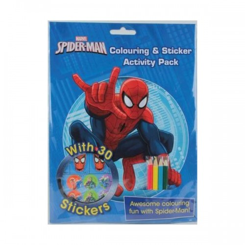 [특가] Marvel Spider-Man Colouring & Sticker Activity Pack (Paperback, 영국판)