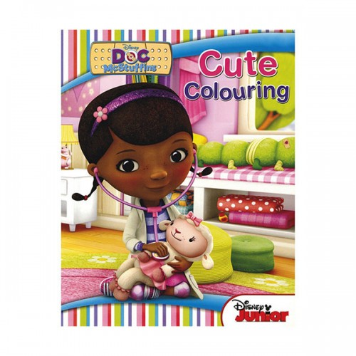 [특가] Disney Doc Mcstuffins Colouring Book (Paperback, 영국판)