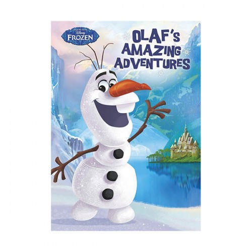 [특가] Disney Frozen Olaf's Amazing Adventures (Hardcover, 영국판)