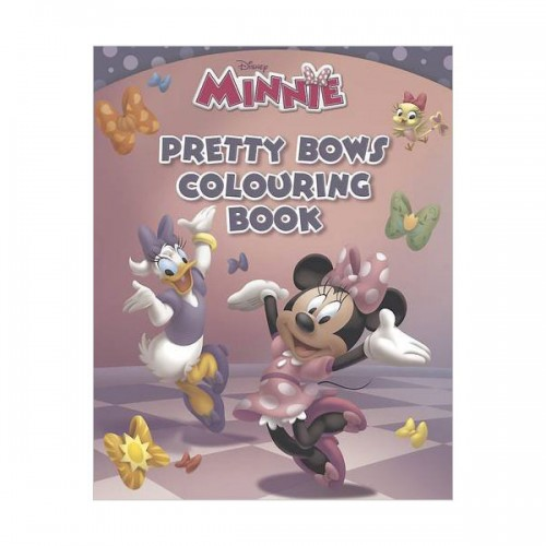 [특가] Disney Minnie's Bow-tique Bow-tiful Colouring Book (Paperback, 영국판)