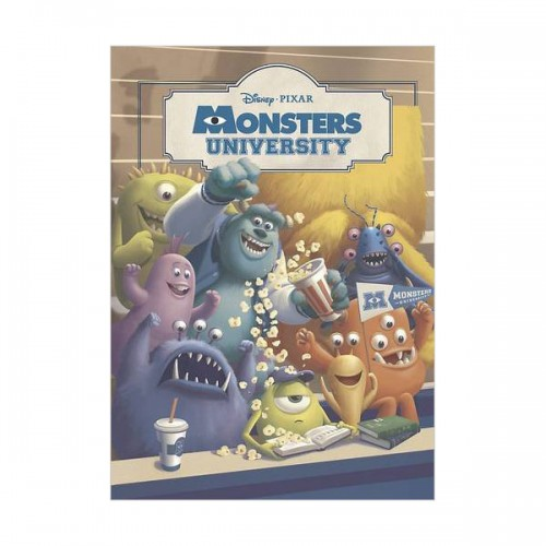 [특가] Disney Monsters University Padded Classic (Hardcover, 영국판)