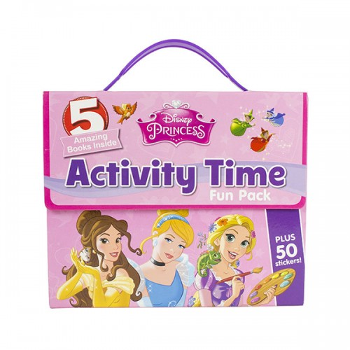 [특가] Disney Princess Activity Time Fun Pack (Paperback, 영국판)