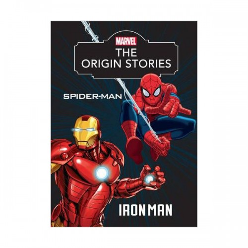 [특가] Marvel The Origin Stories Spider-Man and Iron Man (Hardcover, 영국판)