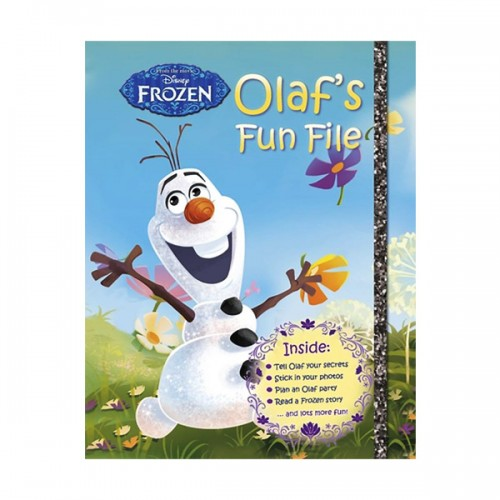 [특가] Disney Frozen Olaf's Fun File (Hardcover, 영국판)