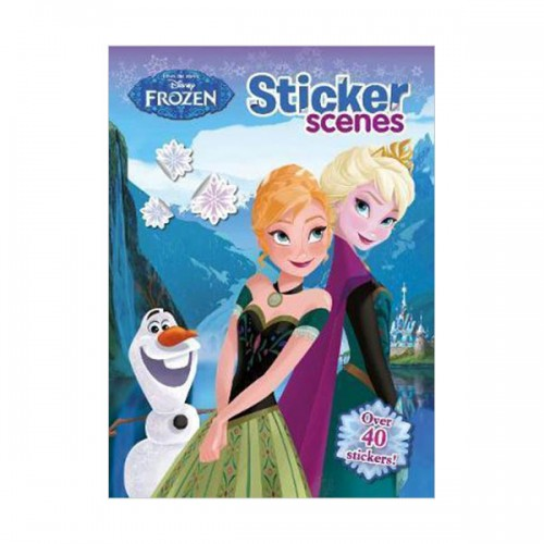 [특가] Disney Frozen Sticker Scenes (Paperback, 영국판)