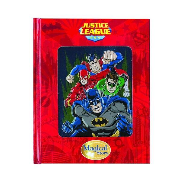 [특가] Justice League : Magical Story With Lenticular (Hardcover)